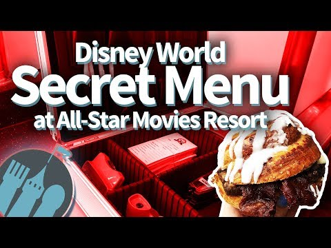 Disney World Secret Menu at AllStar Movies Resort!