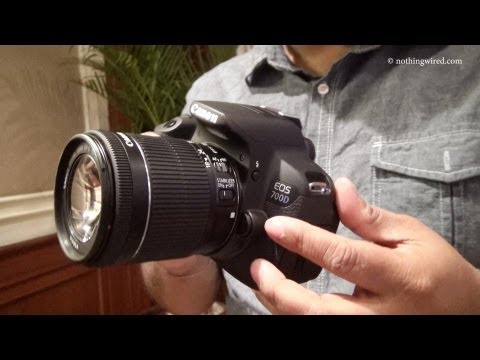 Canon EOS 700D Review Hands on full HD - YouTube