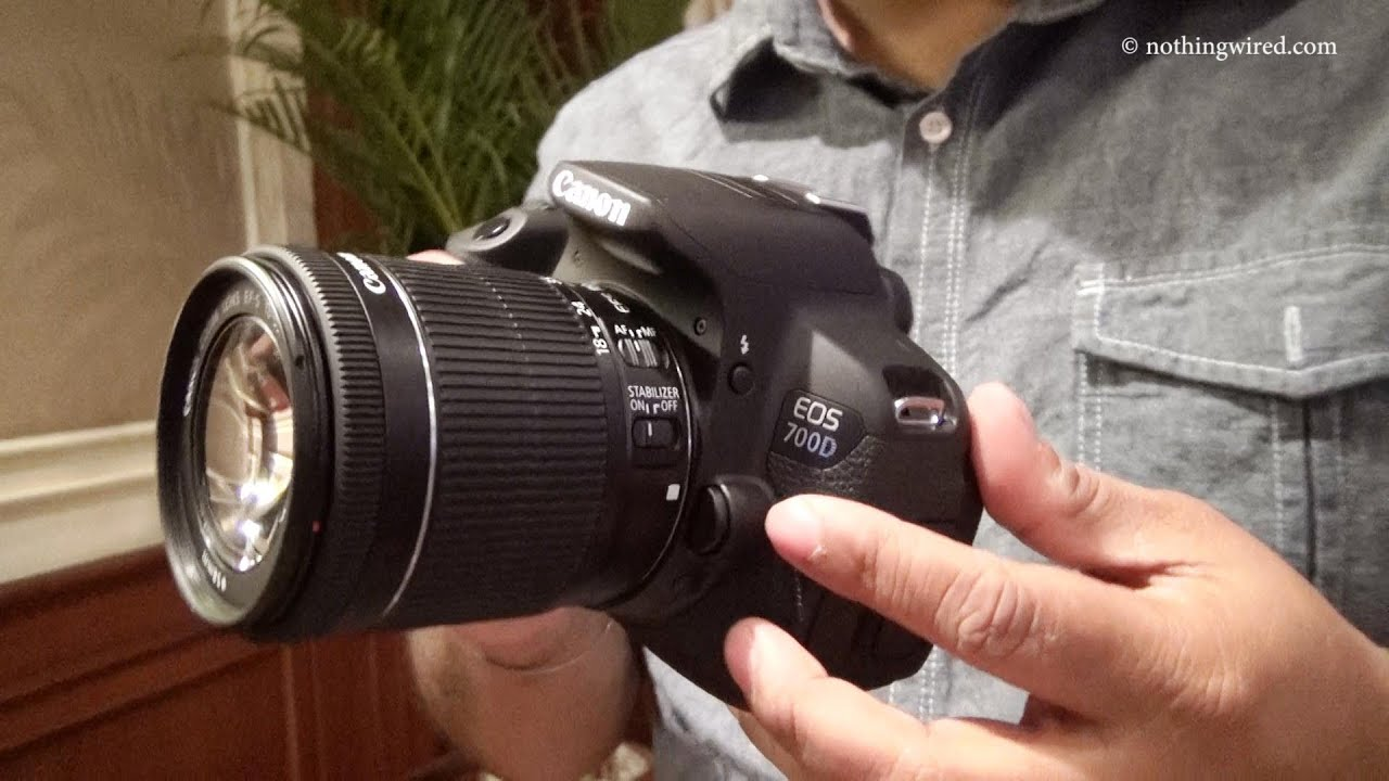Camera Canon Eos 700d Dslr Camera Review canon eos 700d review hands on full hd youtube