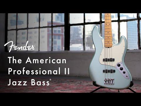 American Professional II Jazz Bass | American Professional II Series | Fender