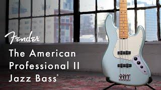 American Professional II Jazz Bass   American Professional II Series   Fender