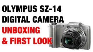 Olympus SZ-14 Digital Camera Unboxing amp First Look