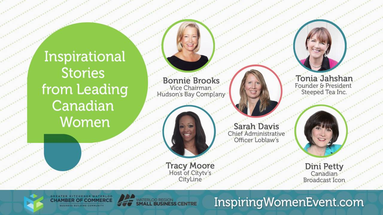 Small Business Centre Kitchener Kw Chamber 2016 Inspiring Women Event 2 3404 Youtube