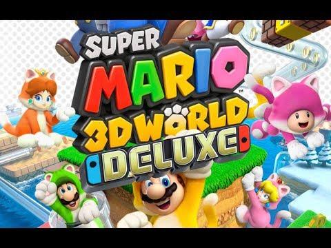 Super Mario 3D World Deluxe Trailer - Announcement Trailer (FAN MADE, NOT OFFICIAL)