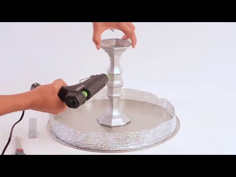 How To Make A DIY Cake Stand!