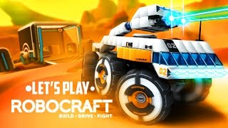 Let's Play | Robocraft #12 Угар вдвоём