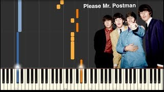 Please Mr. Postman - The Beatles - Piano Tutorial