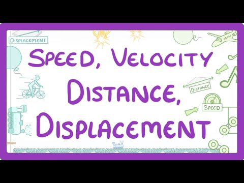 GCSE Physics - The difference between Speed and Velocity & Distance and Displacement  #51