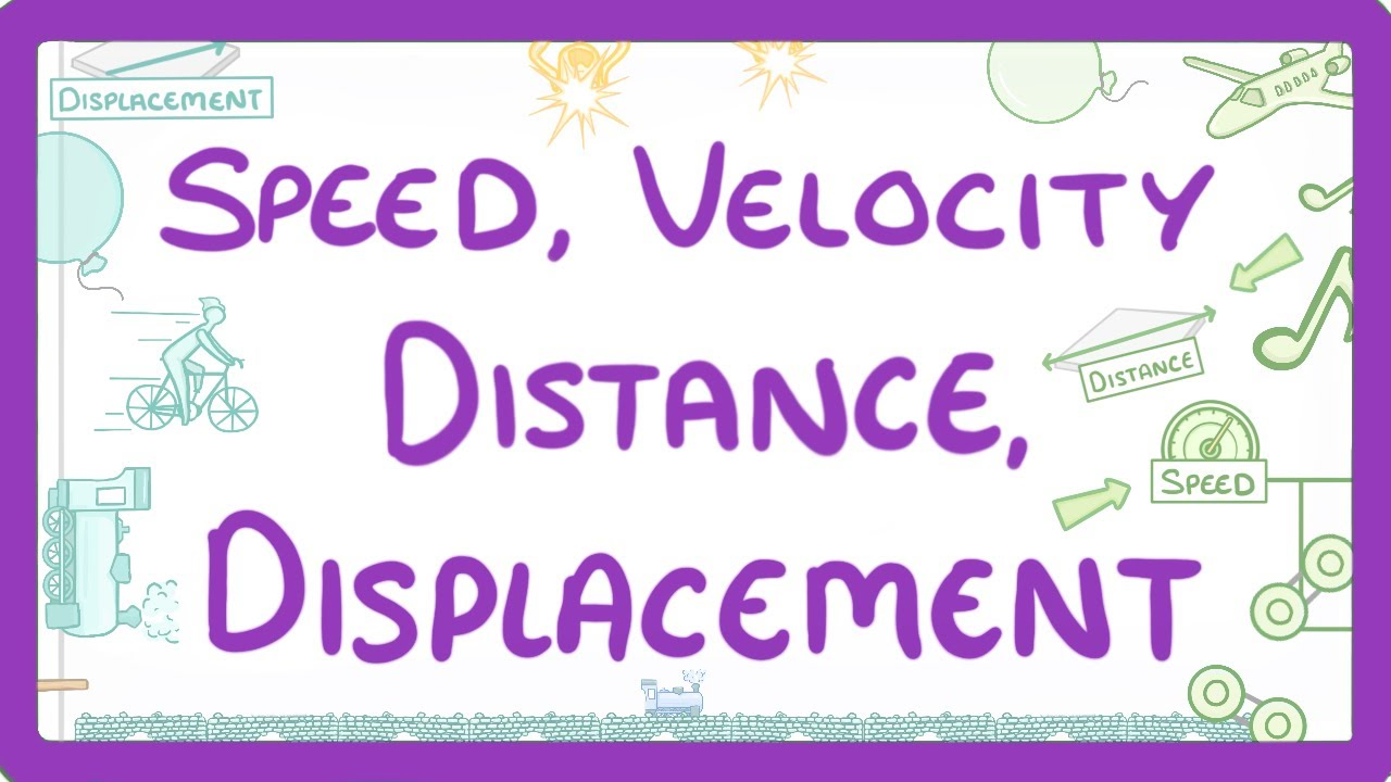 Download GCSE Physics - The difference between Speed and Velocity & Distance and Displacement  #51