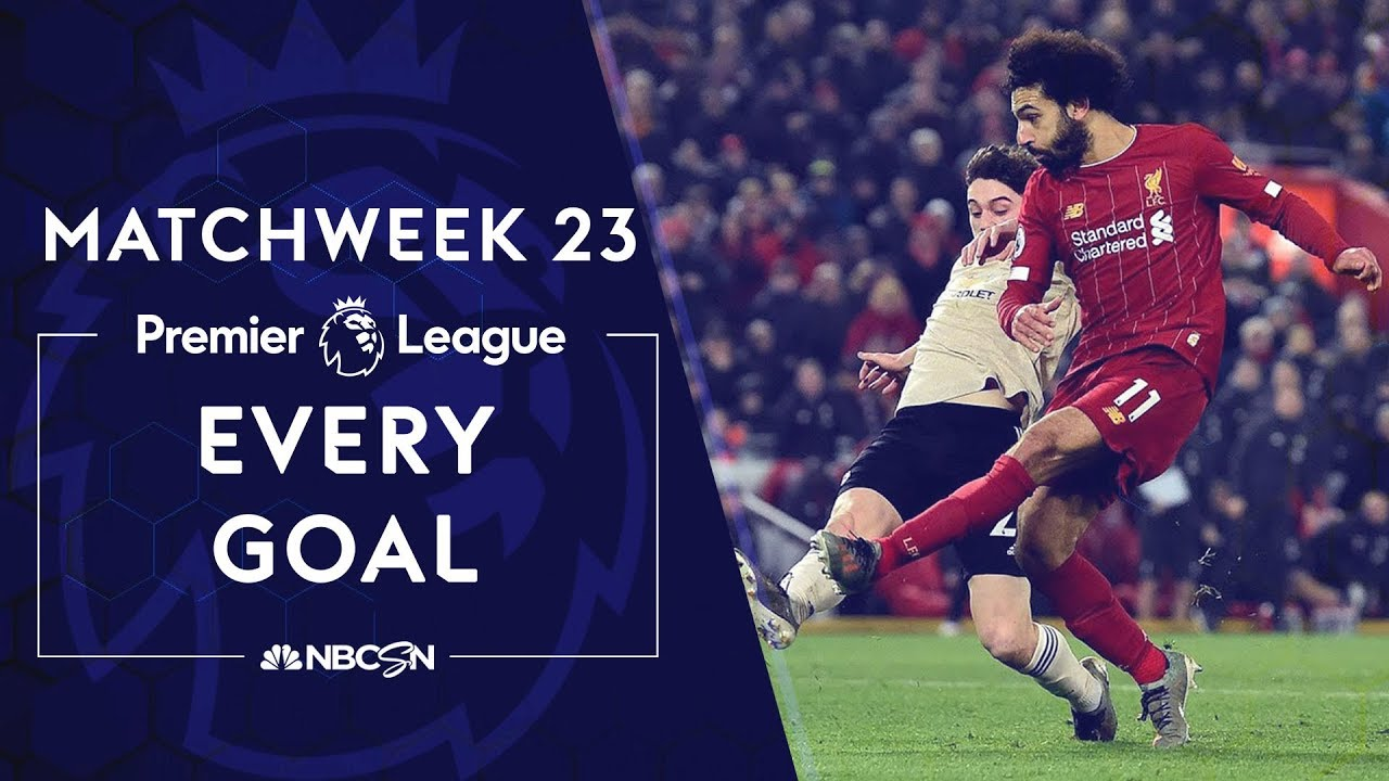 Every goal from Matchweek 23 in the Premier League | NBC Sports