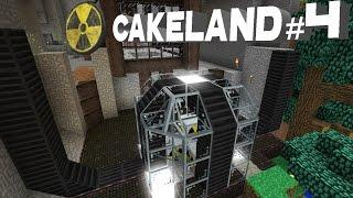 CakeLand FTB #4: Атомный Реактор и Крутая Система Автокрафта!
