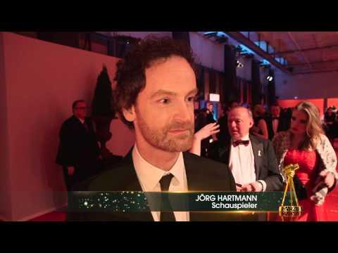 Jörg Hartmann im Interview - GOLDENE KAMERA 2014