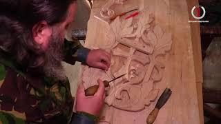 Священик-різьбяр з Великоберезнянщини виробляє унікальні дерев'яні витвори
