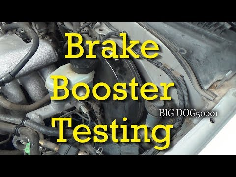 how-to-test-for-a-bad-brake-booster-/-brake-booster-testing