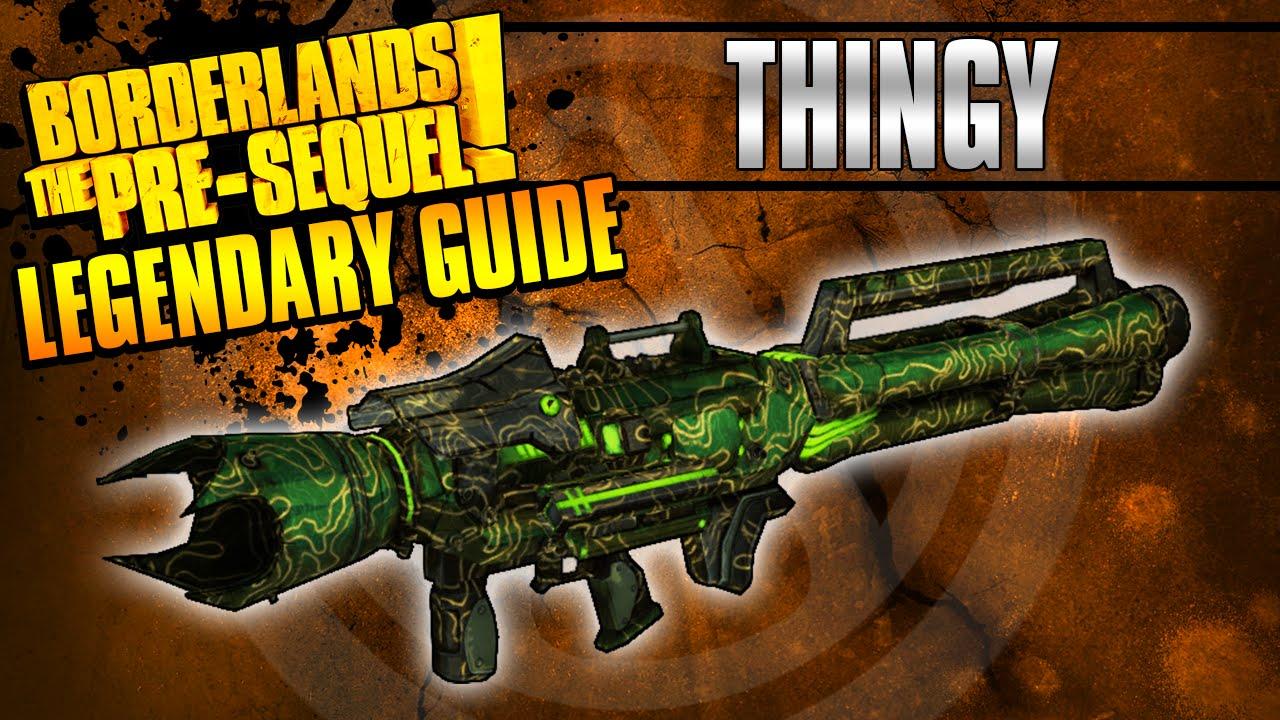 Borderlands The Pre-Sequel: *Luck Cannon* Legendary Weapon ...