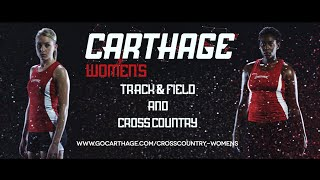 Carthage College Women's Cross Country and Track & Field Feature Video
