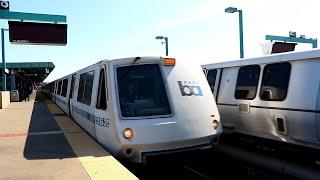 BART Train(Bay Area Rapid Transit) : West Oakland Station