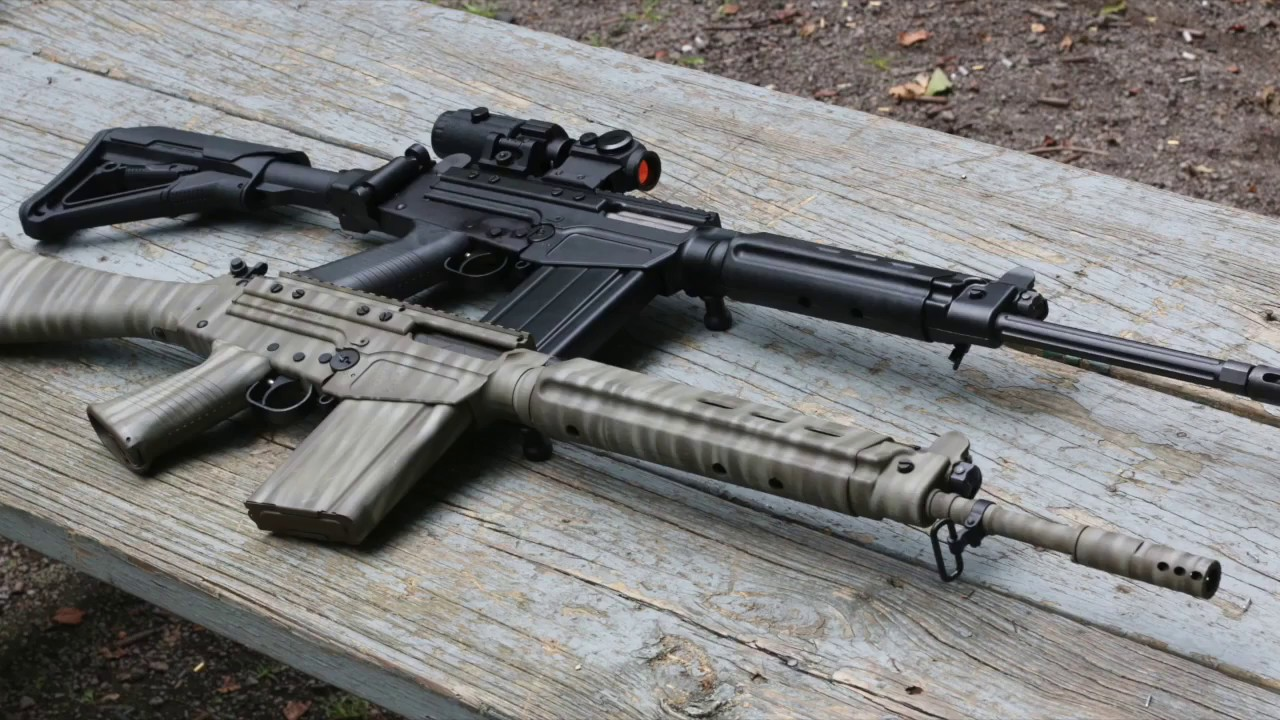 REVIEW - Armslist com presents the DS Arms SA 58 The American FAL rifle  YouTube 720p
