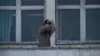 Tecktonik на крыше КПИ - OLD VIDEO