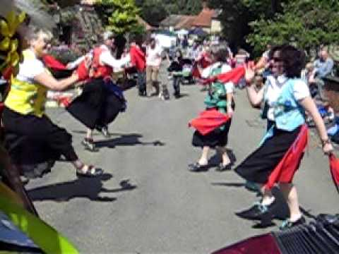Ely and Littleport Riot dance English Country Gardens