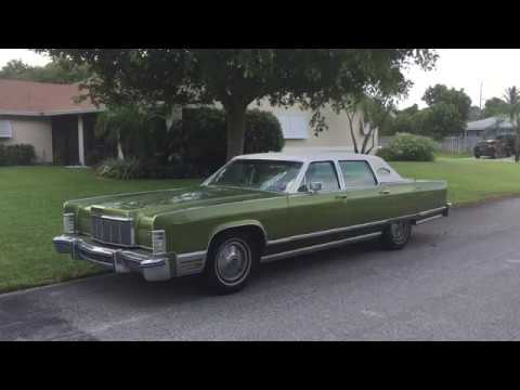 1975 Lincoln Continental Towncar For