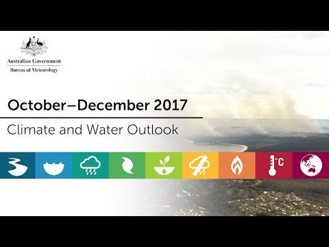 Climate and Water Outlook, October–December 2017