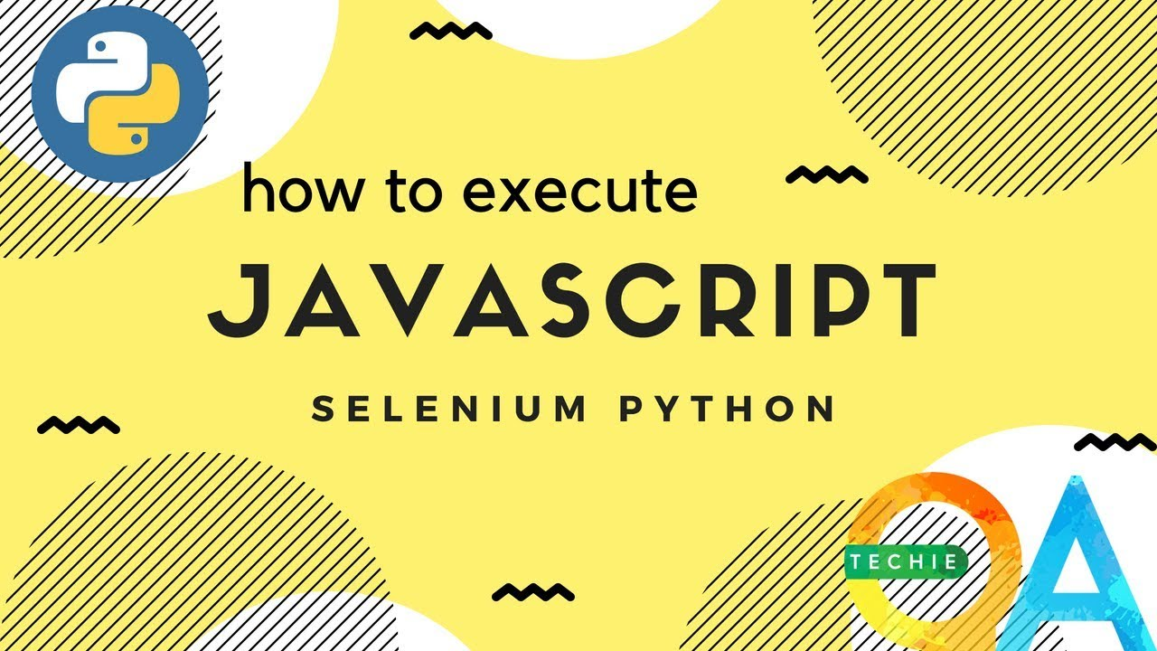 How to run javascript from the selenium script in Python