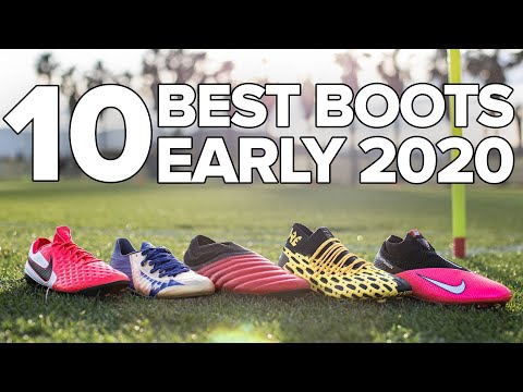 TOP 10 BEST FOOTBALL BOOTS | Early 2020