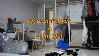 video diary #2 / first morning - room makeover & room tour