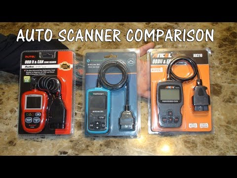 ⭐AUTO DIAGNOSTIC TOOLS CAR OBD2 CODE READER  COMPARISON ⭐ AUTEL TOPDON ANCEL REVIEW 👈