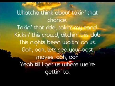 Let Me See Ya Girl - Cole Swindell (Lyrics)