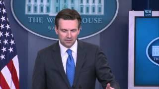 Press Briefing by Press Secretary Josh Earnest