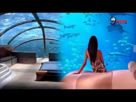 समुद्र में तैरता होटल! World's first UNDERWATER hotel...