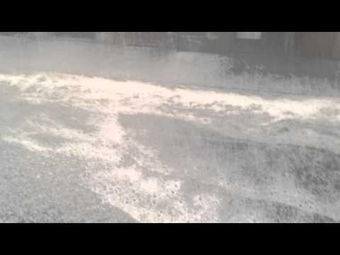 ECCEZIONALE GRANDINATA CON COLPI DI VENTO A FIRENZE - 19.09.2014 - AGIPRESS