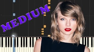 Taylor Swift - Gorgeous - Piano Tutorial