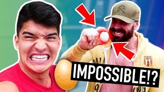 Worlds Strongest Man VS EGG CHALLENGE!
