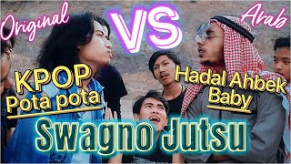 KOCAK! Battle lagu2 Viral! ARAB GOKIL Pt. 3   3way Asiska Cover
