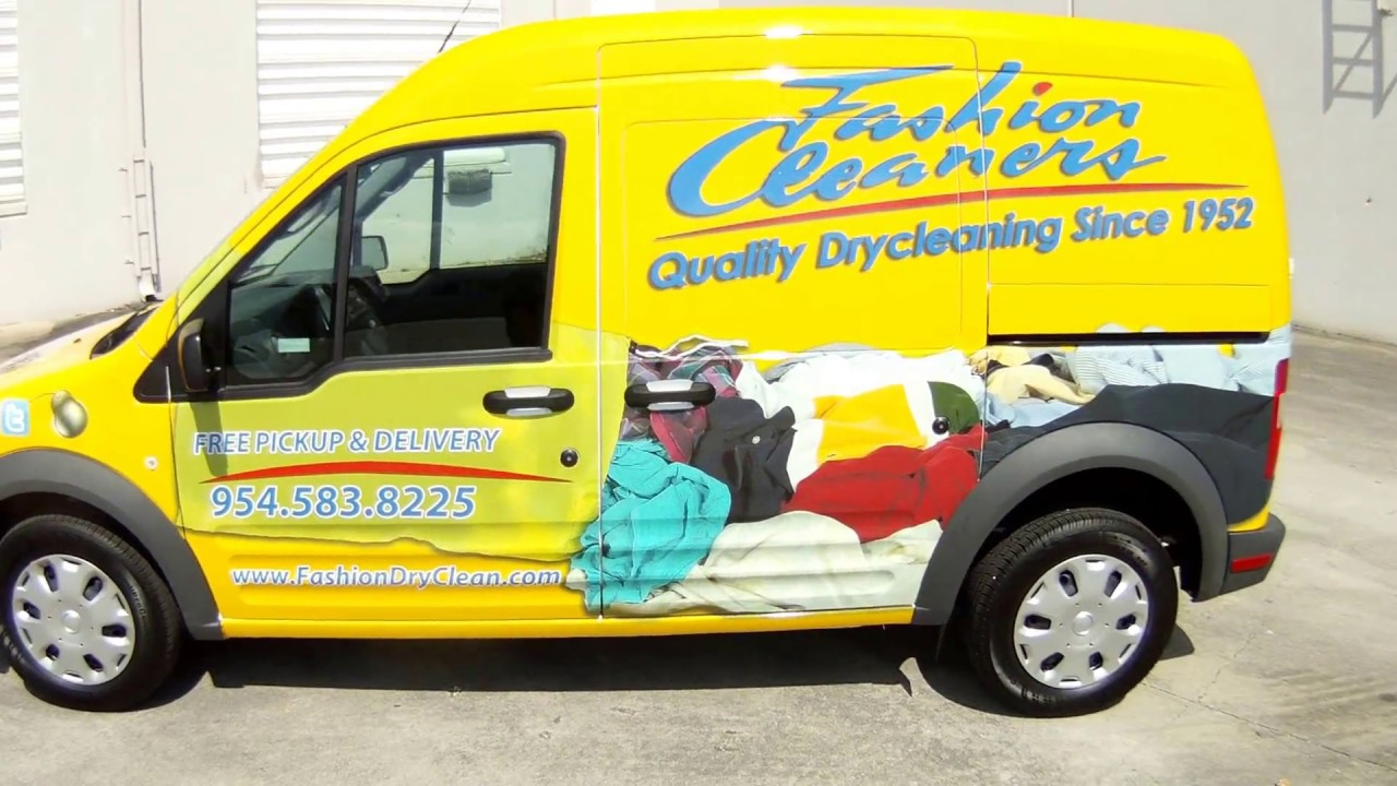 Fort Lauderdale Ford Transit Connect Van Car Wrap