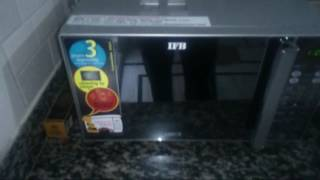 How to clean IFB microwave oven