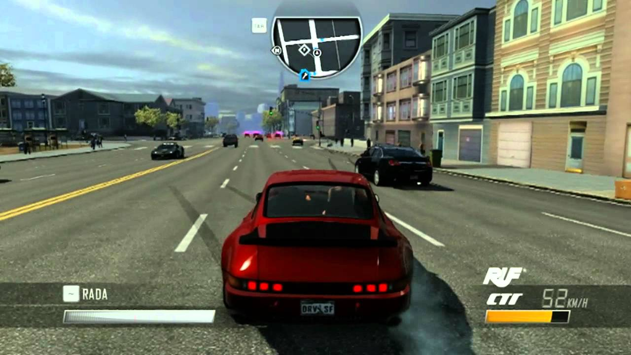 Driver San Francisco Porsche 911 Turbo Test Hd Youtube