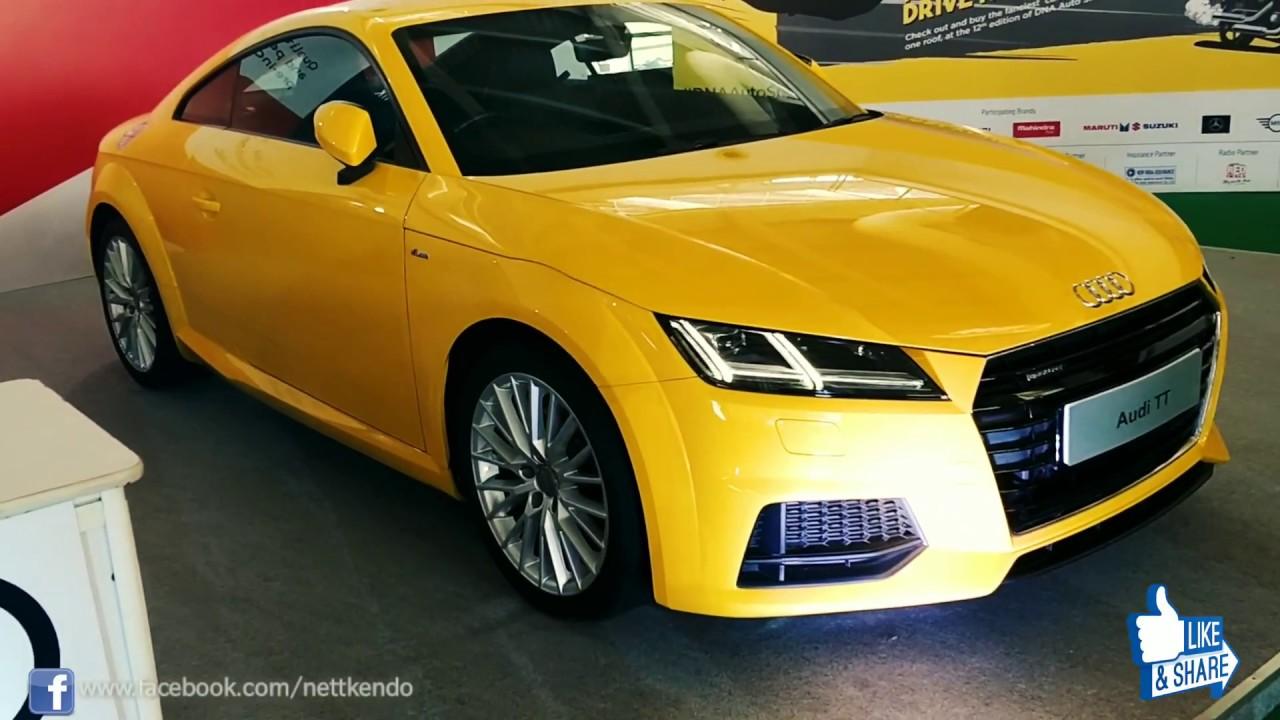 Cheapest Sports Car in India | Audi TT - YouTube