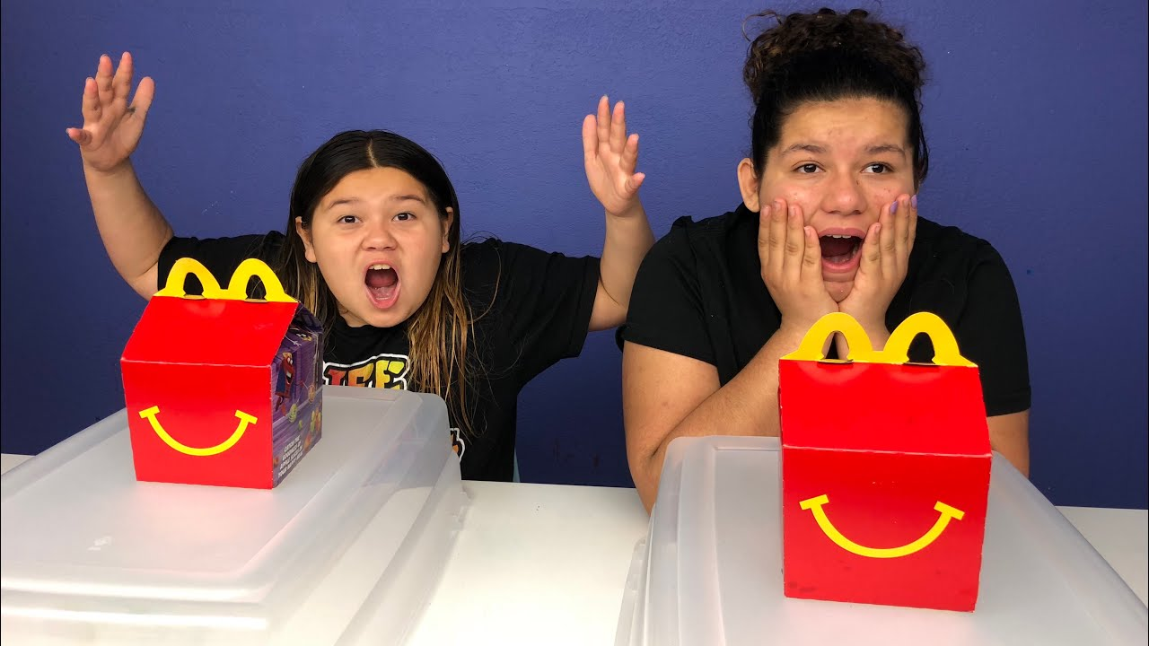 Slime Mary Izzy: MCDONALD'S SLIME SWITCH-UP CHALLENGE