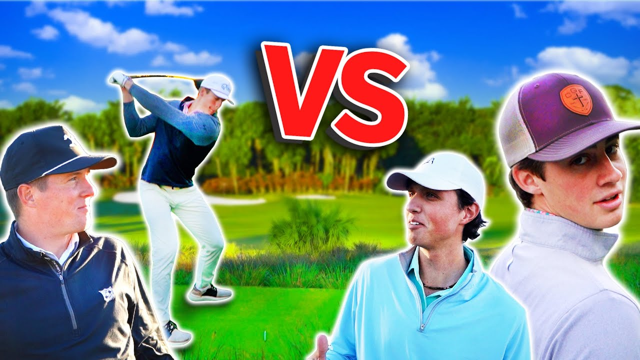 GM GOLF | The PUREST GOLF COURSE I've Ever Played | Epic 2v2 Match (Part 1)