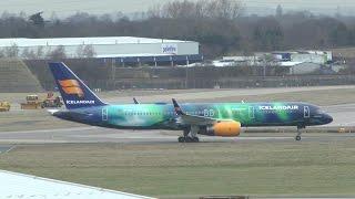 1st Scheduled Icelandair Flight into Birmingham Airport  05/02/15