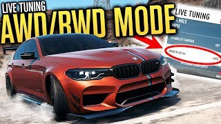 AWD & RWD MODE ON THE BMW M5?! | Need for Speed Payback