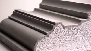 видео Карнизы из пенопласта для фасадного декора