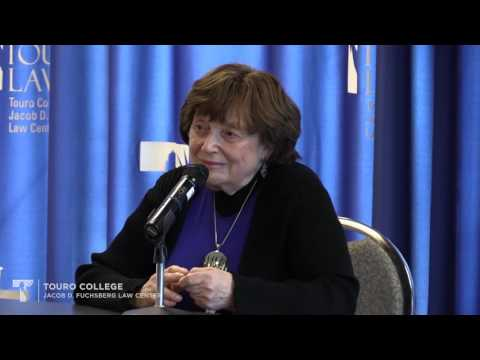 Auschwitz Survivor speaks for Yom Hashoah