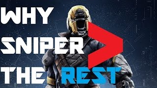 Destiny -:- Why my first choice weapon is the Sniper?