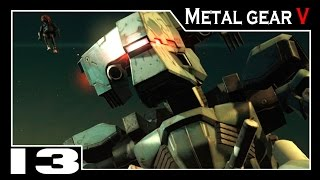 Metal Gear Solid V: The Phantom Pain - Parte #13 INFERNAL!!! Metal Gear Boss Battle!!