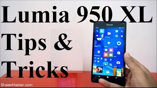 Microsoft Lumia 950 XL - Hidden Features, Tips and Tricks
